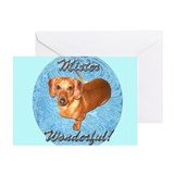 Mr. Wonderful Greeting Card