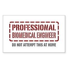 Professional Biomedical Engineer Decal