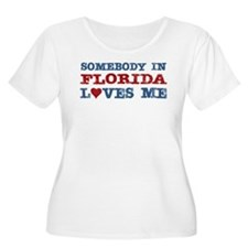 Somebody in Florida Loves Me T-Shirt