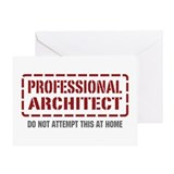 Professional Architect Greeting Card