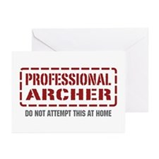 Professional Archer Greeting Cards (Pk of 20)