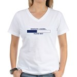 GRADUATE LOADING... Women's V-Neck T-Shirt