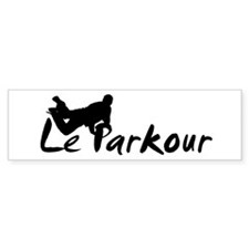 Bumper Sticker Le Parkour