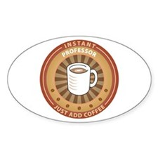 Instant Professor Oval Sticker (10 pk)
