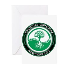 Going Green New York City Tree Greeting Card