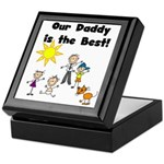 FAMILY STICK FIGURES Keepsake Box
