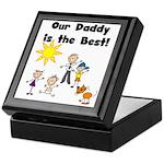 FAMILY STICK FIGURES Keepsake Box