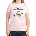 FAMILY STICK FIGURES Women's Light T-Shirt