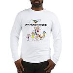 FAMILY STICK FIGURES Long Sleeve T-Shirt