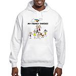 FAMILY STICK FIGURES Hooded Sweatshirt