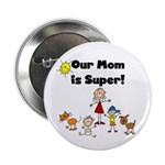 "FAMILY STICK FIGURES 2.25"" Button (10 pack)"