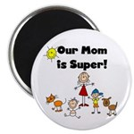 FAMILY STICK FIGURES Magnet