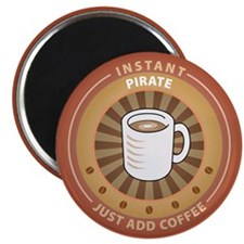 "Instant Pirate 2.25"" Magnet (10 pack)"