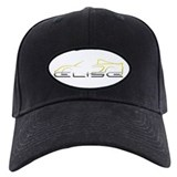 Elise Outline Yellow Baseball Hat