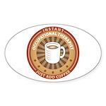Instant Occupational Therapist Sticker (Oval 10 pk
