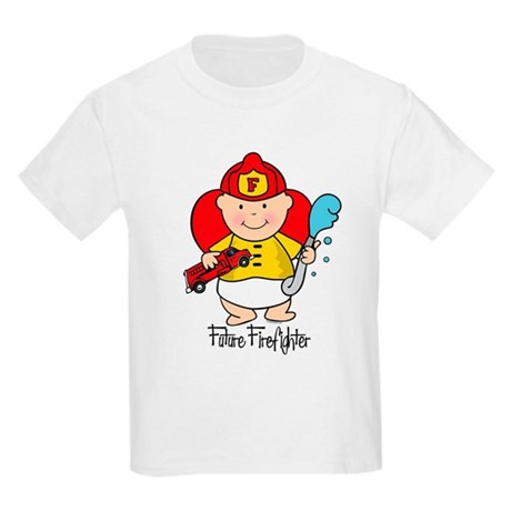 Future Firefighter Kids Light T-Shirt