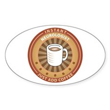 Instant Neurologist Oval Sticker (50 pk)