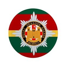 """Royal Dragoon Guards 3.5"""" Button (100 pack)"""