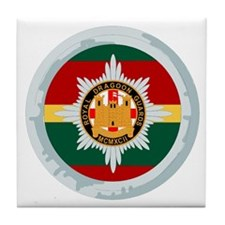Royal Dragoon Guards Tile Coaster