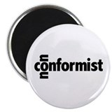 The Nonconformist 2.25&quot; Magnet (10 pack)