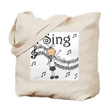 I Sing (FEMALE) Tote Bag