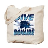 Dive Bonaire (blue) Tote Bag