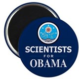 Scientists for Obama Magnet