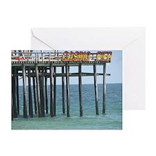 Casino Pier Greeting Cards (Pk of 10)