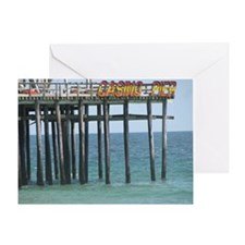Casino Pier Greeting Card