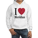 I Love Meridian Hooded Sweatshirt