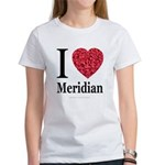 I Love Meridian Women's T-Shirt