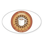Instant Linguist Oval Sticker