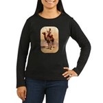 Camel Art Women's Long Sleeve Dark T-Shirt