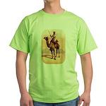 Camel Art Green T-Shirt