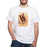 Camel Art White T-Shirt