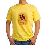 Camel Art Yellow T-Shirt