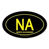 North Allegheny Oval Sticker (10 pk)