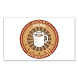 Instant Janitor Rectangle Sticker 10 pk)