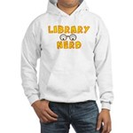 Library Nerd Hooded Sweatshirt