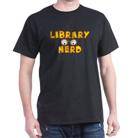 Library Nerd Dark T-Shirt