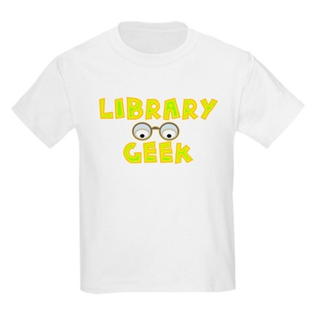 Library Geek Kids Light T-Shirt