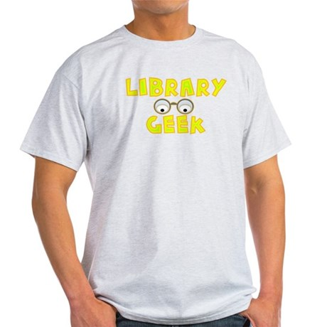 Library Geek Light T-Shirt