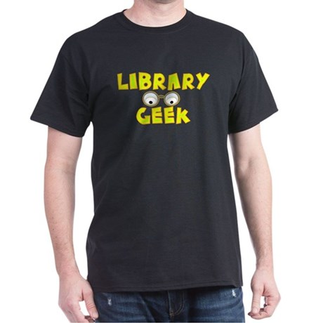 Library Geek Dark T-Shirt