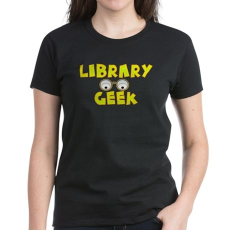 Library Geek Women's Dark T-Shirt