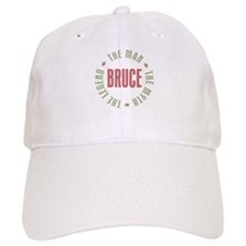 Bruce Man Myth Legend Baseball Cap