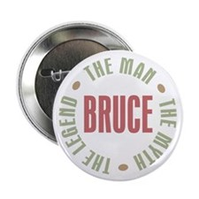 "Bruce Man Myth Legend 2.25"" Button (100 pack)"