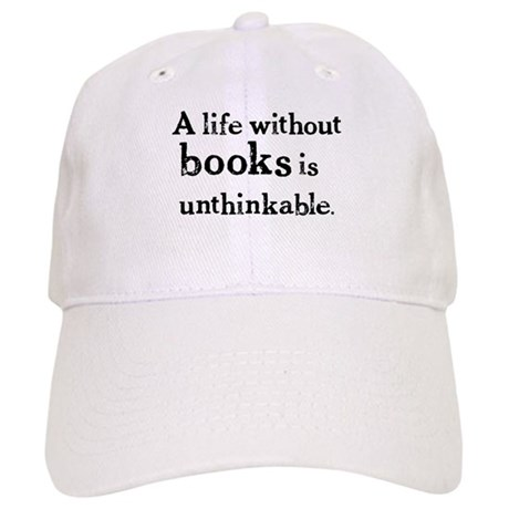 Life Without Books Cap