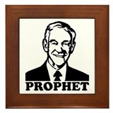 Prophet Ron Paul Framed Tile