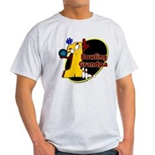 Yellow number 1 bowling grand T-Shirt
