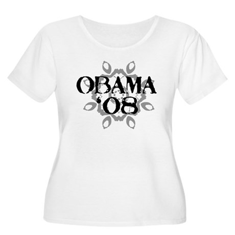 Obama '08 Women's Plus Size Scoop Neck T-Shirt